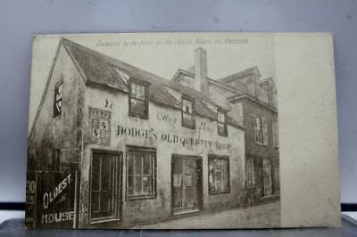Scenic Dodge Old Curiosity Shop Postcard Old Vintage Card View Standard Souvenir