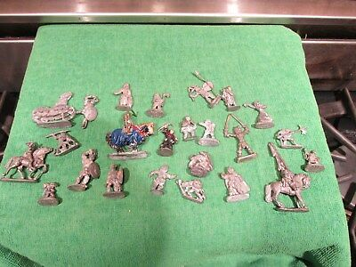 Lot Of D D Pewter Lead Fantasy Figurines No Reserve Auction Mid 1980s