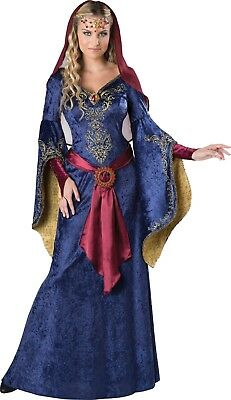 Medieval Deluxe Maid Marian Robin Hood Renaissance Costume Size M Game Of Throne