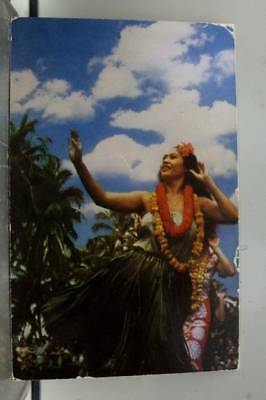 Hawaii HI Hula Dancers Postcard Old Vintage Card View Standard Souvenir Postal