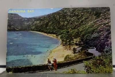 Hawaii HI Hanauma Bay Oahu Postcard Old Vintage Card View Standard Souvenir Post