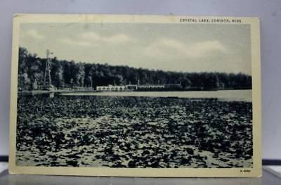 Mississippi MS Crystal Lake Corinth Postcard Old Vintage Card View Standard Souv