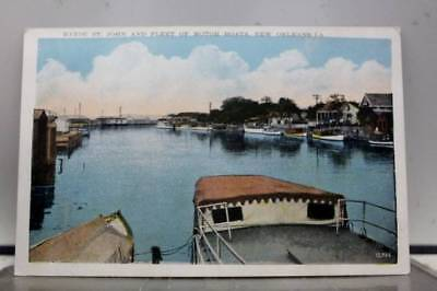 Louisiana LA St John Bayou New Orleans Postcard Old Vintage Card View Standard