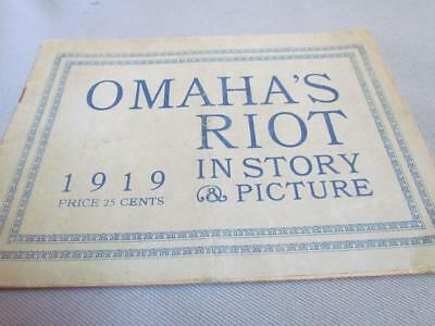 1919 Omaha's Riot Booklet