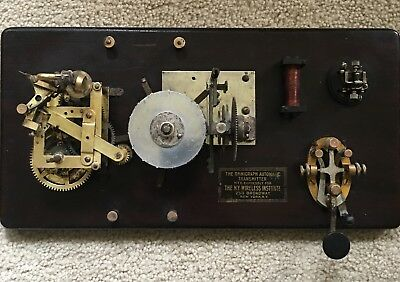 Omnigraph No. 2 Jr. 15 Disk Transmitter Telegraphy Code Teaching Practice Device