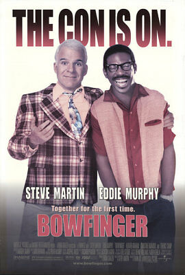 BOWFINGER great original 27x40 D/S movie poster (th43)