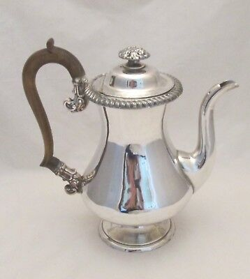 A Fine Small Old Sheffield Plate Coffee Pot c1830 - Ornate Detailing