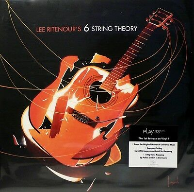Lee Ritenour  6 String Theory Khiov Lp-43034  2Lp 180G Bonamassa Lukather