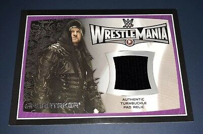 Topps WWE Road To WrestleMania 31 2015 The Undertaker Turnbuckle Relic 25/25