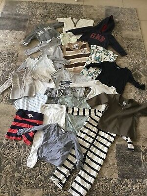 Bulk Designer baby clothes GAP SEED FRED BARE CABLE BONDS ROYAL DOULTON ETC x 21