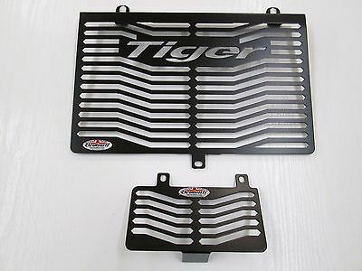 TIGER 955i (01-06) RADIATOR & OIL COOLER GUARD PROTECTOR COVER  GRILL