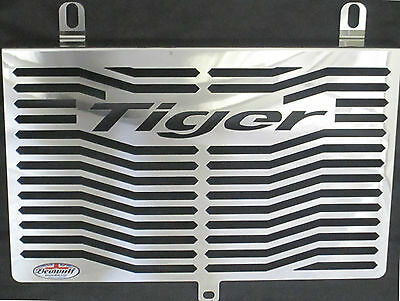 Triumph Tiger 955i (01-06) Stainless Steel Radiator Guard and oil cooler Beowulf