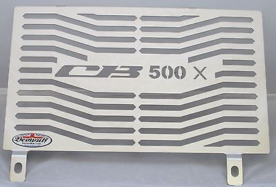 Honda CB500X A (13-19) Beowulf Stainless Steel Radiator Cover Guard Grill H030