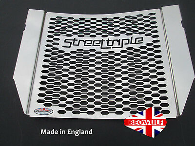 Triumph Street Triple 765 (2017) Stainless Steel Radiator Protector Grill Guard