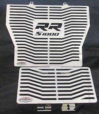 BMW S1000RR (09-14) Stainless Steel Radiator Guard Grill & Oil cooler Beowulf