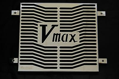 YAMAHA V MAX (85-07) V-MAX VMAX Stainless Steel Radiator Rad Cover Grill Beowulf