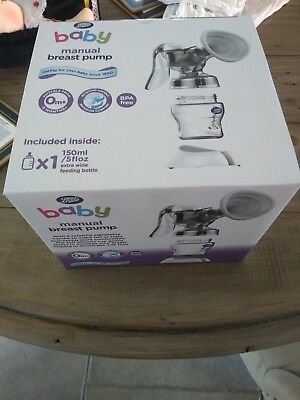 boots manual breast pump new in box