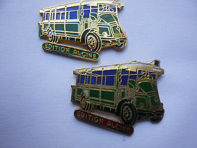 lot 2 pin s bus EDITION ALCINE different