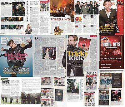 KAISER CHIEFS : CUTTINGS COLLECTION -adverts interviews-