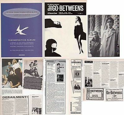 THE GO-BETWEENS : CUTTINGS COLLECTION -adverts-