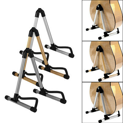Foldable Acoustic Electric Guitar Bass Stand Holder SK20 Aluminum Alloy 8 UO