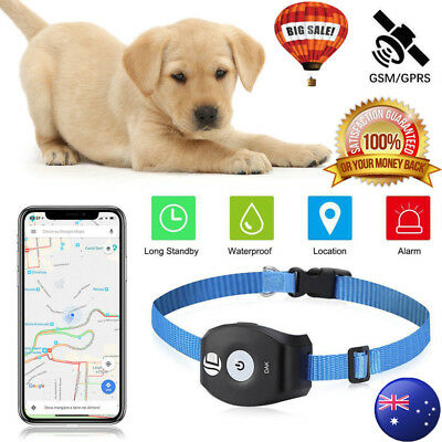 Mini Realtime GPS Tracker System For Cat Dog Pets Tracking Device with Free App
