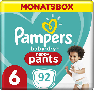 Pampers Baby-Dry Couches Taille Taille 7 17+ kg Monatsbox Spar Boîte 112 Pièce