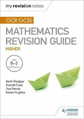 OCR GCSE Maths Higher: Mastering Mathematics Revision Guide by Gareth Cole,...