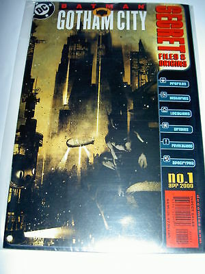 "BATMAN : GOTHAM CITY ""SECRET FILES AND ORIGINS"" no. 1.NEW CATWOMAN STORY.DC.2000"