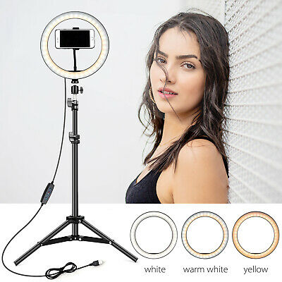 "Zomei 14"" LED Ring Light Dimmable Photography Lighting For Camera Photo Videos"