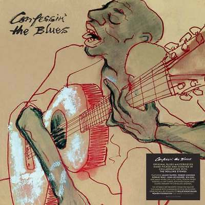 "Confessin' the Blues - Various Artists (NEW 5 x 10"" VINYL LP BOOKPACK)"