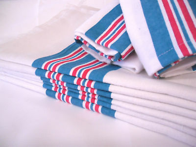 "1 new baby infant receiving swaddling hospital blanket large 30""x40"" striped"