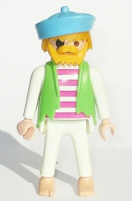 Playmobil Piraten Figur PIRAT aus Ruderboot 3792 Piratenschiff 3858 5780 9989