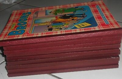 10  The Broons Annuals 1981 To  2003, Vg / Ex  Condition .