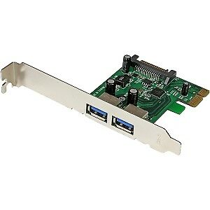 NEW! Startech 2 Port Pci Express Pcie Superspeed Usb 3.0 Card Adapter With Uasp
