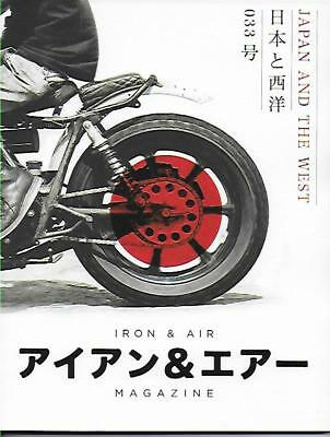 Iron & Air Magazine No.33 (NEW COPY) *Post included to UK/Europe/USA/Canada