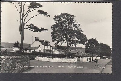 Scotland - Isle of Arran, Lamlash, Brodick Rd & Marine House RP - Postcard B2352