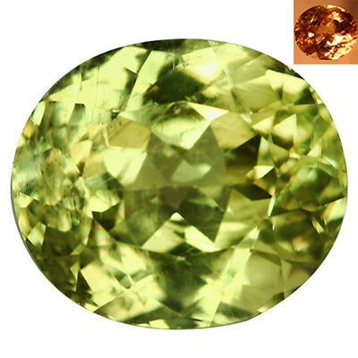 4.70Ct VS Gorgeous Oval Cut 10 x 9 mm AAA Color Change Turkish Diaspore