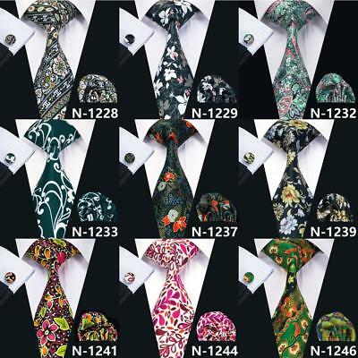 Wholesale Mens Silk Tie Necktie Set 150 Colors Classic Jacquard Woven Wedding