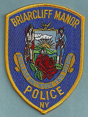 Briarcliffe Manor New York Police Patch