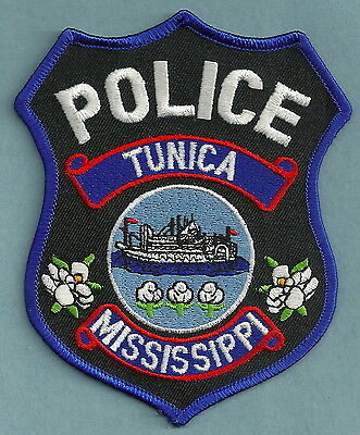 Tunica Mississippi Police Patch River Steamboat!
