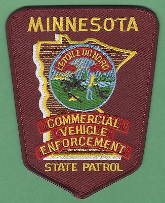 Minnesota State Patrol Commercial Vehicle Enforcement Police Patch
