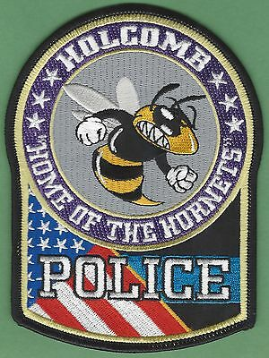 Holcomb Missouri Police Patch