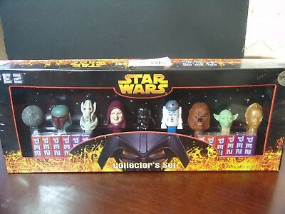 Star Wars PEZ Collector's Set  NEW