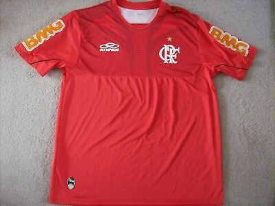 Flamengo Training Shirt 2011-2012 (Large) Brazil