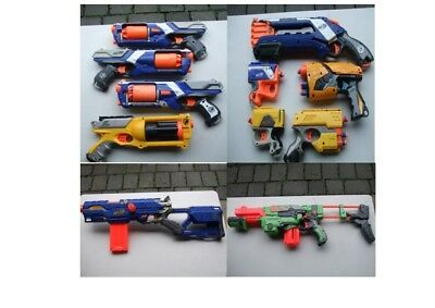 Large Nerf Gun Bundle - 11 Guns With Accessories Plus Much More