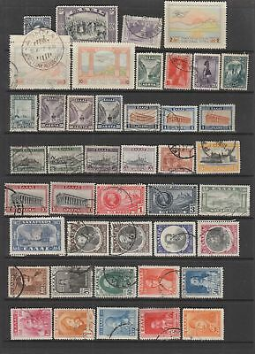 Greece 1924 - 1942 collection , 119 stamps. Mh or used