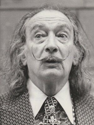 Superbe  photo originale  NB  SALVADOR DALI