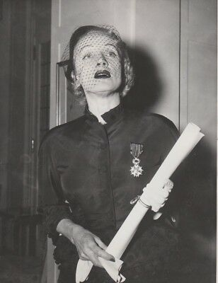 Superbe photo originale NB  MARLENE DIETRICH  en 1951