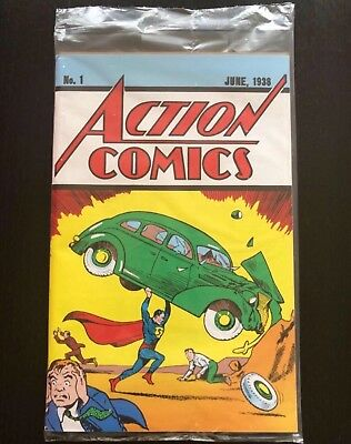 Action Comic n1 DC Superman limited edition